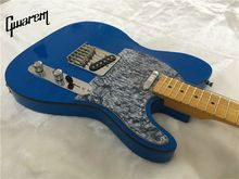 Electric guitar/Gwarem luck star tele guitar/sky blue color/guitar in china(China)