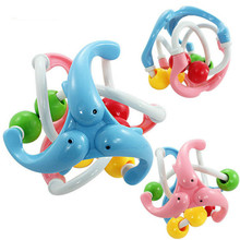Education Develop Ball Baby Intelligence Ball Toy Rattles Train Grasping Ability Toys Fun Little Loud Jingle Ball Hand Bells