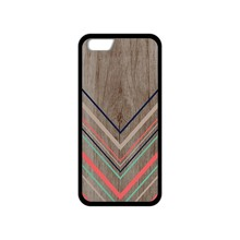 Tribal Chevron Wooden Soft TPU phone cover case for iphone 4 4S 5 5S SE 5C 6 6S Plus 7 Plus(China)