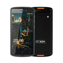 "AGM X1 MINI Rugged Smartphoe IP68 Dual SIM Card 4000mAh 2GB RAM 16GB ROM 5.0""720P Multi-language 8MP Camera Play store"