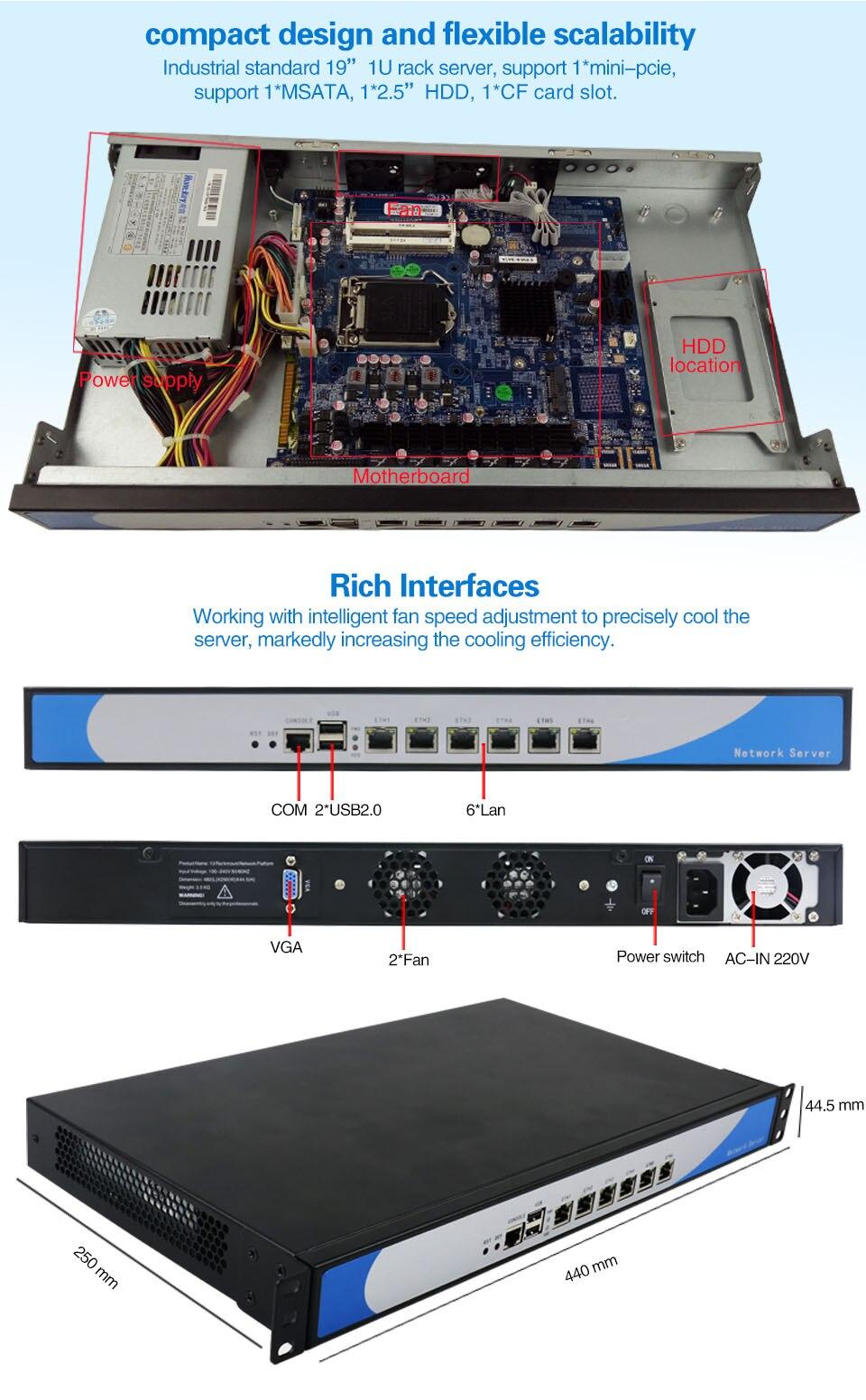 1U Rackmount Server 11