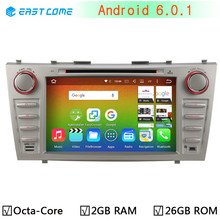 HD 1024*600 4G LTE Octa Core 2GB RAM 32GB ROM Android 6.0.1 Car DVD Radio GPS BT Player for Toyota Aurion Camry 2007 - 2011