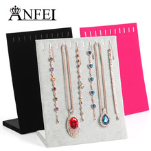 ANFEI jewelry display Necklace display shelf jewelry holder stand for jewelry stand rack display stand necklace show rack(China)