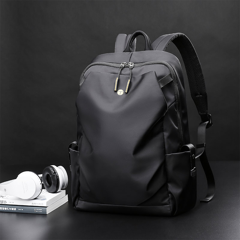 Fashion Backpack Men Casual Travel And Business Backpack 15 Inch Laptop Waterproof Backpack Black 15 Inches
