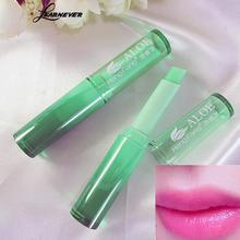 LEARNEVER new Lip balm beauty Hydrating Fruity Smell charm lip Changeable Color lip cream waterproof Cosmetic Makeup Lipstick(China)