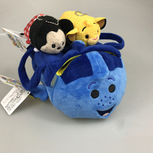 Finding Nemo Dolly fish Plush storage bag Hot 18cm tsum tsum plush doll Children's birthday gift toys for kids