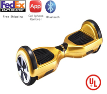 Buy UL2272 Listed Hoverboard 6.5inch electric self-balance drifting scooter hoverboard Bluetooth for $94.05 in AliExpress store