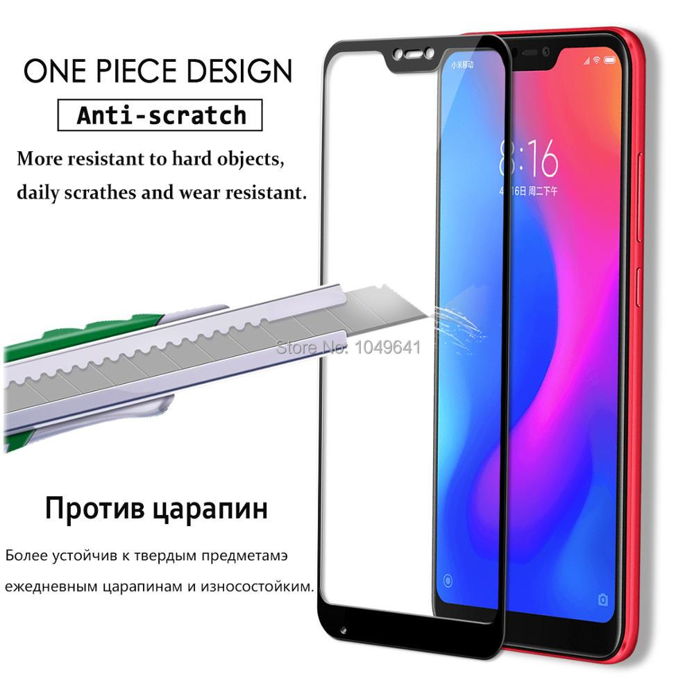 KXM1373_2_Full Coverage Glass For Xiaomi Mi A2 Lite 5.84 inch Screen Protector Protective Film