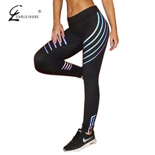 Buy CHRLEISURE Fashion Fitness Sporting Leggings Women Pants Workout High Waist Leggins Push Leggings Black Jeggings 2 Colors for $7.48 in AliExpress store