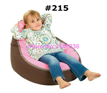Comfortable Pink with brown seat Princess Bean Bag Baby Sleeping Bag Without Fillings<br>