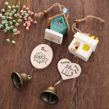 New Creative Random Chic Handmade Bird House Landscape Decor Wind Chime Bell Decoration Accessories(China)