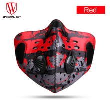 Red/Black/Blue/Green Cycling Mask Pollution Filter Face Masks Half MTB Bike Bicycle Dust Sport Snow Ski Running Cycling Mask