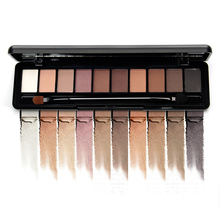 NOVO Eye Makeup Shadow Palette Naked Matte Eyeshadow Palette With Brush Professional Nuked Kyli Eyes Cosmetics 10 Colors Per Set