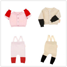 2017 Autumn Winter Boys Girls Sweaters Knitting Kids Sweaters And Cardigans Fashion Thick Casual Tiny Cotton Children's Clothing