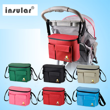 Pram Baby Mother Nappy Messenger Accessories Stroller Hanging Organizer Bag Baby Children Storage Bottle Diapers Bag for Mom