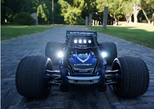 E-Revo Traxxas Lamp Headlamps + Taillight + side lights Set 12pcs Include Tail light bracket and Remote control switch