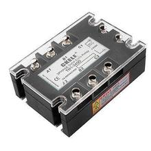 DC3-32V AC24-480V 40A 3P TN1-340D Solid State Relay w Indicator Light
