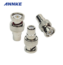 ANNKE 10Pcs/lot CCTV Connector/ BNC Connector/BNC TO AV For Home Security System Cameras