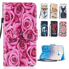 Fashion Colorful Flip Leather Case Cover for Huawei Y 5ii Y5 II Y5 2nd Gen Y5ii CUN-U29 Y5 ii 2 CUN U29 Wallet Phone Cases(China)