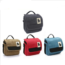 Buy Canvas Micro DSLR Camera Bag Single Shoulder Case Protective Carrying Travel Handbag Canon EOS M Nikon N1 Sony Nex Panasonic for $9.56 in AliExpress store
