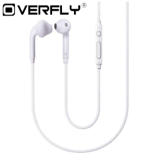 Headset with Microphone 3.5mm Wired Earphone Portable Sport Running Stereo Headphone Remote Control for iPhone Samsung S6 Xiaomi(China)