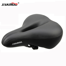 New Free Shipping Bicycle Seat Cycling Saddle Comfortable Seat Mountain Bike Sponge Big Cushion Ride Bicycle Accessories(China)