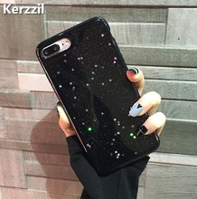 Kerzzil Bling Glitter Soft Silicone Case For iPhone 7 6 6S Plus Star Cover Shining Phone Back For iPhone X 6 6S 8 Plus Capa(China)