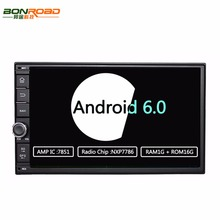 "Bonroad 7"" 2Din 1024*600 Android 6.0 Ram1G 16GB Car Stereo PC Tablet Universal For Nissan Golf GPS Radio Audio Player(No DVD)"
