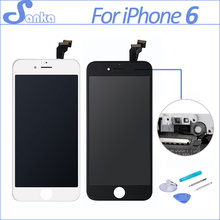 SANKA AAA For iPhone 6 Screen LCD Touchscreen Display Digitizer Assembly Replacement Ecran Pantalla LCD Mobile Phone Parts Tools(China)