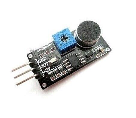 Sound Detection Sensor Module Sound Sensor Intelligent Vehicle 1pcs 3