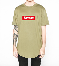 Buy Brand Mens Fashion Savage Hip hop T Shirt Parody Heart Savage Letter Print T-Shirt Cotton Suprem Short Sleeve Tops Tee for $6.29 in AliExpress store