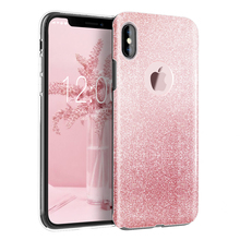 Buy Luxury Bling Crystal Glitter Sparkle Phone Case Shockproof Hard PC Back Soft TPU Inner Shining Case Apple iPhone x for $5.99 in AliExpress store