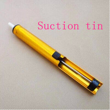 Suction tin soldering iron soldering electronic aids produced strong suction DIY manual metal disassemble free shipping(China)