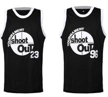 Retro #96 Tournament Shootout 23 #23 Movie Black Cool Basketball Jersey Shirts Wear size Extra small S  3xl