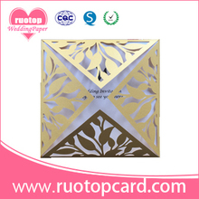 Best business ideas wholesale party supplies laser cut beautiful business greeting card