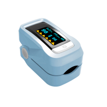 C101H1 SpO2 Fingertip Pulse Instant Read Digital Oximeter Blood Oxygen Sensor Saturation Monitor Meter Blue(China)
