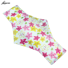 1pcs 30*18cm PICK Charcoal Bamboo Cloth Reusable Menstrual Sanitary Maternity Mama Pads random color  X068
