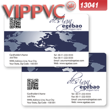 a13041 business cards template for Design and print PVC Transparent business cards