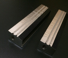 110*20*26MM Aluminum fins heat sink Desktop computer cooling cooler Suitable for 8mm diameter heat pipe , customize length