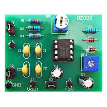 OTL Power Amplifier Circuit DIY Kit Board Module Electronic Kit Integrated Circuits Kits DC 5V Amplifier Module Training