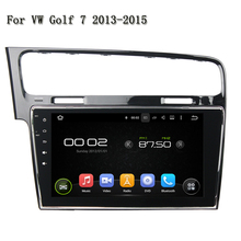 "10.1"" 1024*600 Great Bluetooth Excellent Sound Car Radio Support DAB+ And WAZE Map Android 5.1.1 For VW Golf 7 2013-2015"
