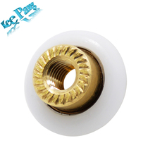5pcs/lot K800 Pulleys Small Rollers Part Copper Scroll Wheels 3D Printers Parts Brass Accessories Diameter 19mm(China)
