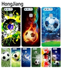 HongJiang football brazil germany sweden Cover phone Case for huawei Ascend P7 P8 P9 P10 lite plus G8 G7 honor 5C 2017(China)
