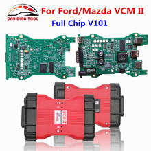 Best Price V101 For Ford/Mazda VCM 2 Full Chip Auto Diagnostic and Programming Tool For Ford VCM IDS Support Multi-Langauges