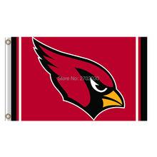 Arizona Cardinals Flag World Series Football Team 3ft X 5ft Larry Fitzgerald Anquan Boldin Banner Arizona Cardinals Banners(China)