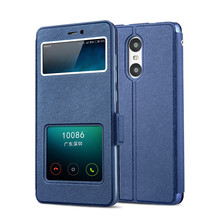 Xiaomi Redmi Pro Case High Quality Window PU Leather Case For Xiaomi Redmi Pro 5.5 Inch With Phone Rope#1027