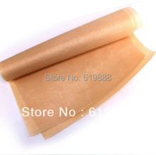 Fiberglass Cloth Anti-oil Linoleum High Temperature Nonstick Thick BBQ Oven Baking Cloth Mat Reuse Oil Paper 60 * 40cm