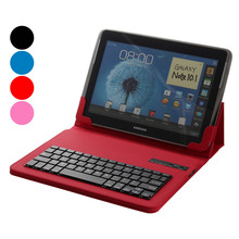 Universal 9 9.7 10 10.1 inch Tablet Removable Wireless Bluetooth Keyboard Leather Case Cover Stand IOS Android Windows Tablet PC(China)