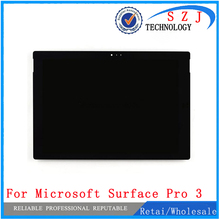 Original Assembly For Microsoft Surface Pro 3 (1631) touch screen +LCD Display replacement Tom12h20 v1.1 LTL120QL01 003