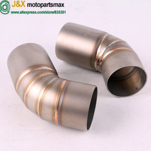 Motorcycle Exhaust full system middle link pipe escape for DUCATI 696 695 2008-2014 796/795 2010-2014 Slip-On without exhaust